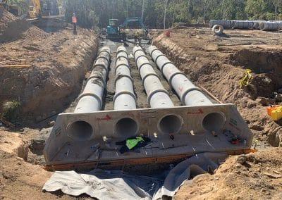 four plumb lines construction