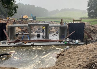 construction site and water system