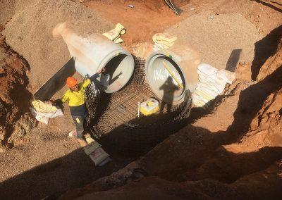 matching draining pipelines